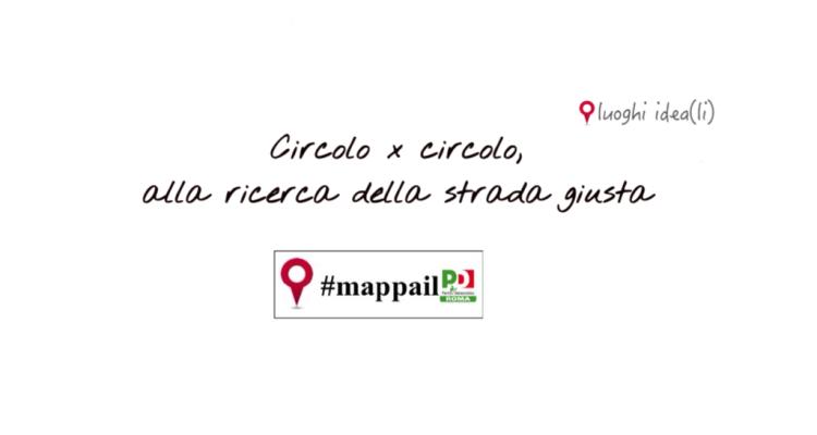 Mappa il PD Fabrizio Barca Roma